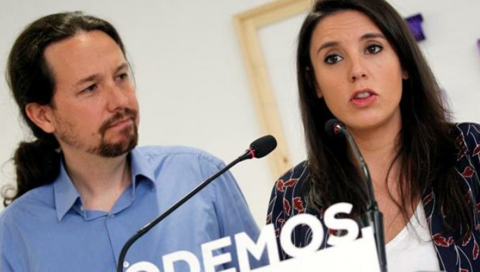 Iglesias, Montero y la polémica del chalé