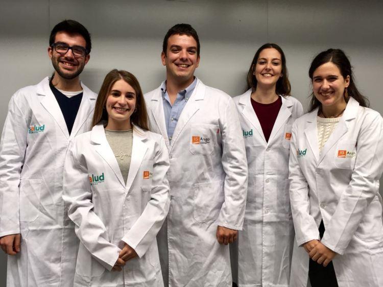 Alberto Jiménez Schuhmacher y su equipo científico