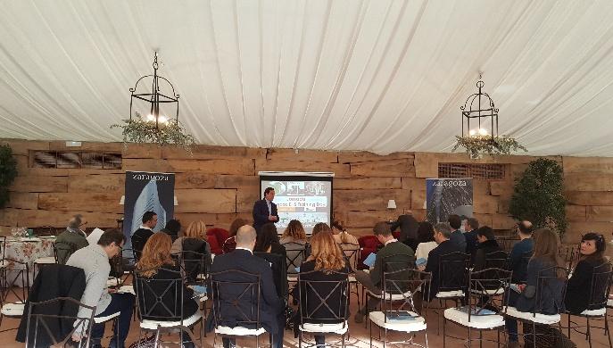 Empresas zaragozanas participan en una jornada formativa sobre eventos sostenibles
