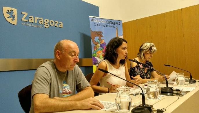 Votados los proyectos a realizar en los Distritos urbanos de Zaragoza de los Presupuestos Participativos