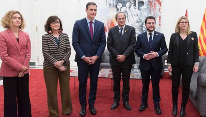 Apuesta por el diálogo Gobierno de España y de la Generalitat