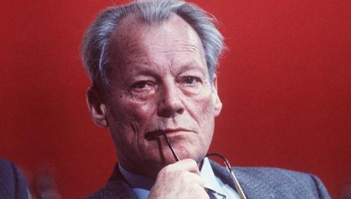 Willy Brandt se negó a recibir Mijaíl Gorbachov