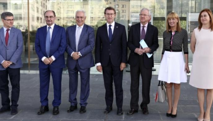 El Presidente de Aragón reclama que la UE aborde el problema del cambio demográfico a través de los fondos estructurales y la profunda revisión de la PAC