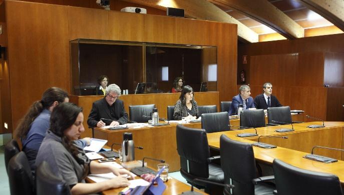 Comision Institucional Cortes Aragon