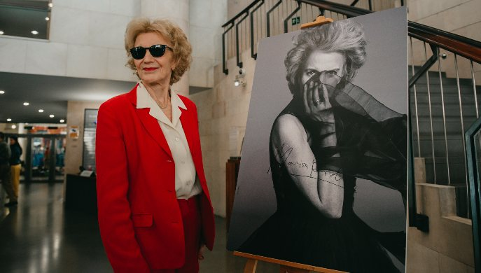 Marisa Paredes recibe el Premio Luis Buñuel