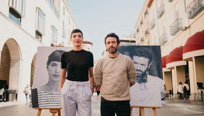 Los cineastas Isabel Peña y Rodrigo Sorogoyen reciben el Premio Ciudad de Huesca Carlos Saura