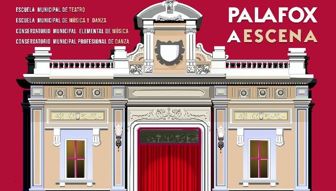"""Palafox a escena"""" ofrece un espectáculo artístico para toda la ciudad"""