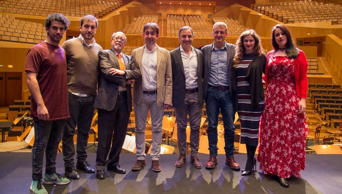 Presentación de la La Bohème con la orquesta del Reino de Aragón