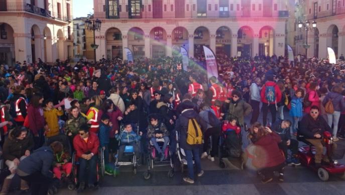 Huesca acoge la sexta edición de la Marcha ASPACE