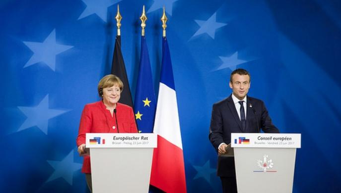 Macron Merkel y las nuevas soberanías europeas