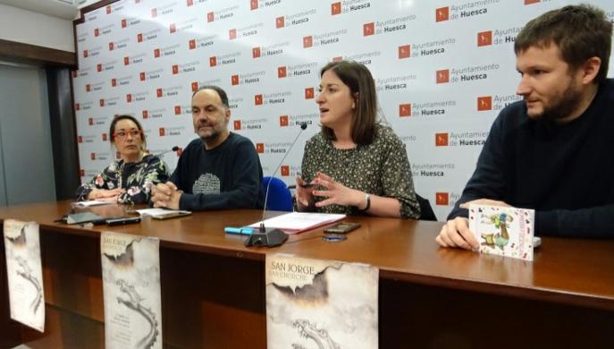 Programa de actividades en torno a la festividad de San Jorge en Huesca