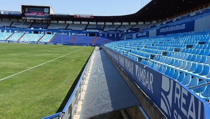 Obras de mejora de la seguridad del Estadio Municipal de La Romareda