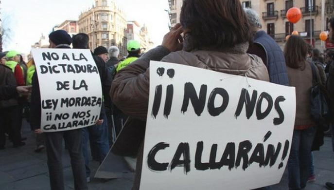"""La libertad de expresión y la """"Ley Mordaza"""""""