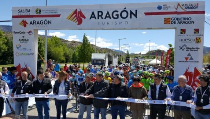 El palmarés de la Vuelta Aragón inscribe hoy a un nuevo campeón
