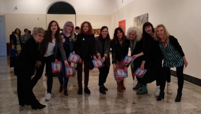 Diez pintoras aragonesas en el museo