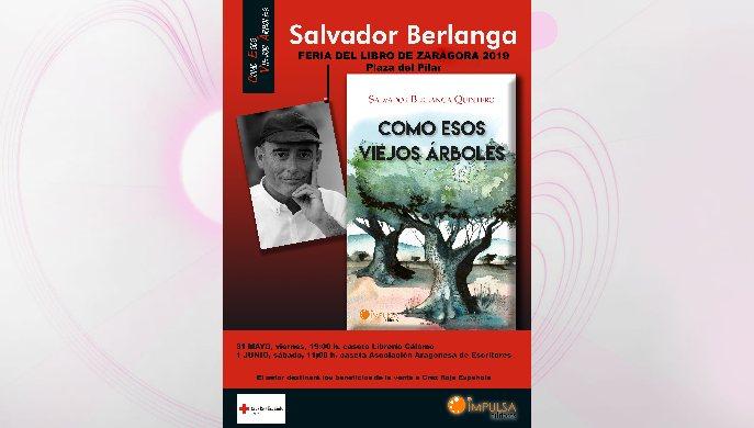 Salvador Berlanga en la Feria del Libro de Zaragoza