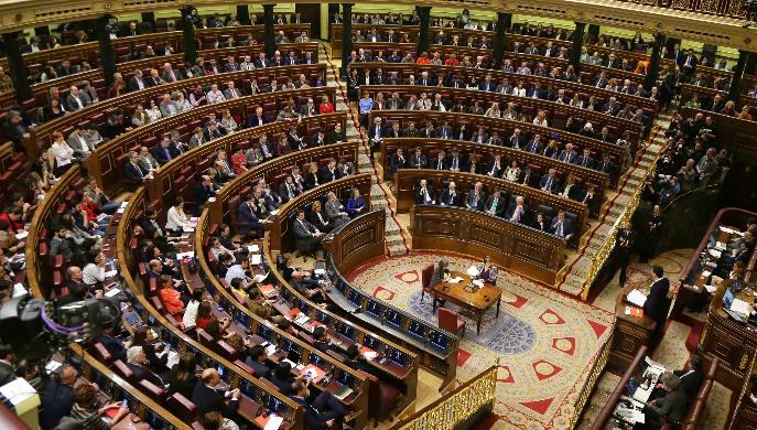 Bienvenidos a la paz Congreso de los Diputados