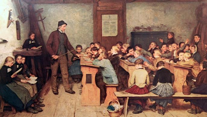El maestro Ciruela no sabía leer y puso escuela