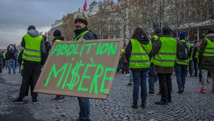 Chalecos amarillos primera revuelta contra la transición ecológica