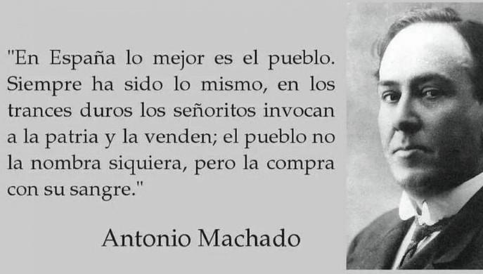 Mención a Antonio Machado en el debate de investidura de Pedro Sánchez