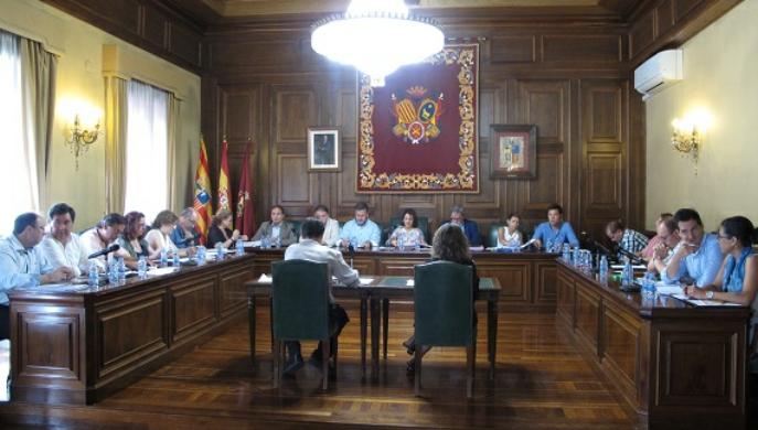 El Ayuntamiento de Teruel pide que la Comisión Europea incluya la línea Sagunto-Teruel-Zaragoza en el corredor Mediterráneo