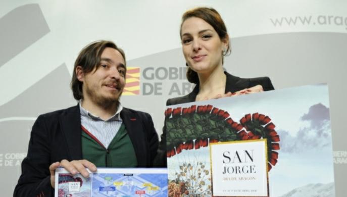 Presentación de los actos conmemorativos de la festividad de San Jorge, Día de Aragón