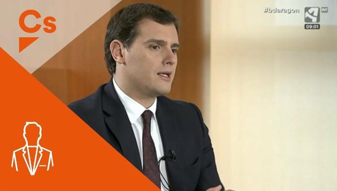 El gran apoyo mediático a Cs por parte de Aragón TV