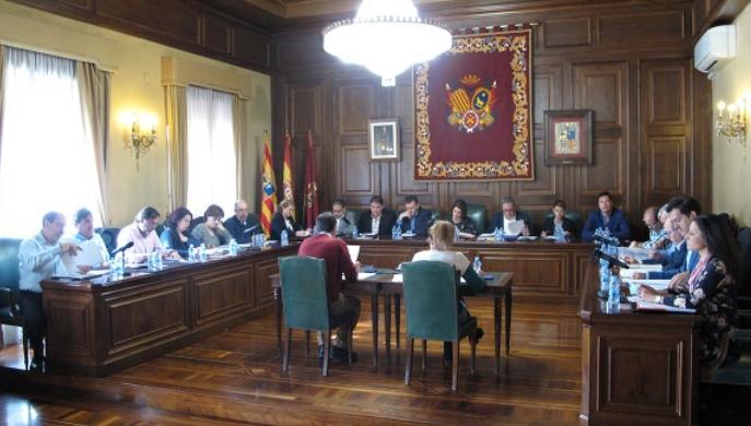 El Ayuntamiento de Teruel a debatido varias propuestas de resolución