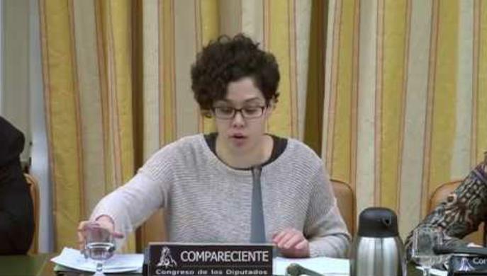 Ana García Rubio Secretaria general del Sindicato de Estudiantes