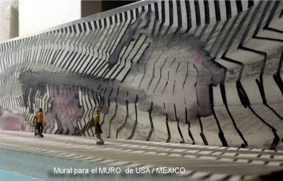 Mural para el Muro USA_Mexico