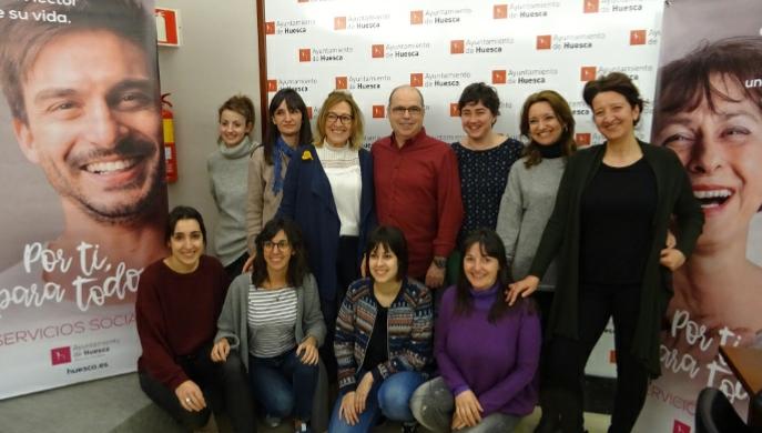 Campaña para dar visibilidad al trabajo realizado en el área de Servicios Sociales del Ayuntamiento de Huesca