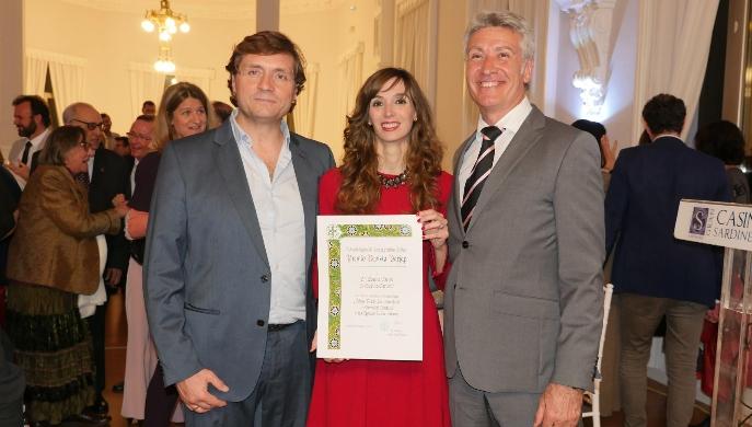 La bióloga aragonesa Lorena Escuer reconocida por los Premios Nacionales de Jardineria