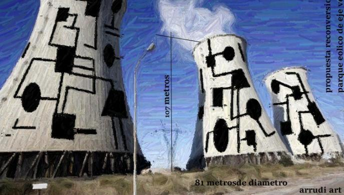 Arrudi ART - Torres de refrigeración Central Térmica Endesa en Andorra