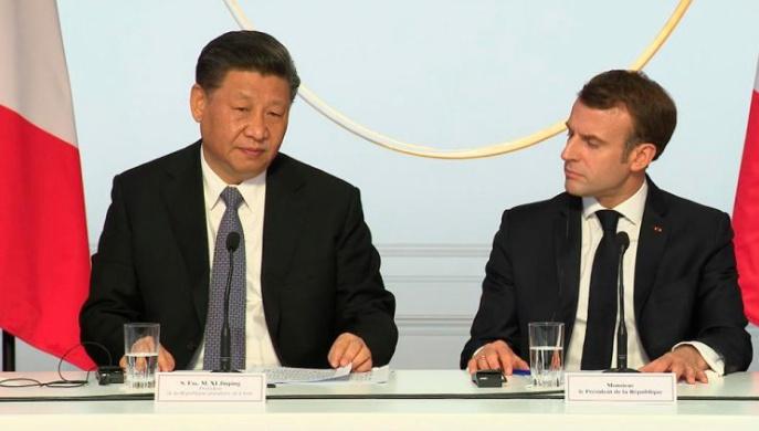 Europa se quita el velo chino