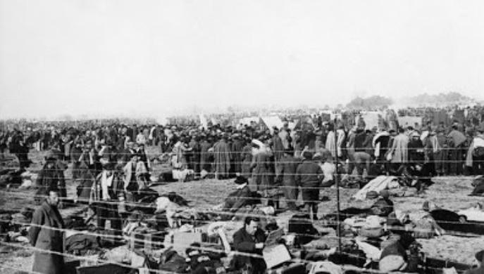 Campo de concentración de Argelés sur Mer