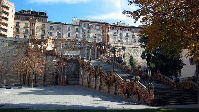 La Escalinata de Teruel