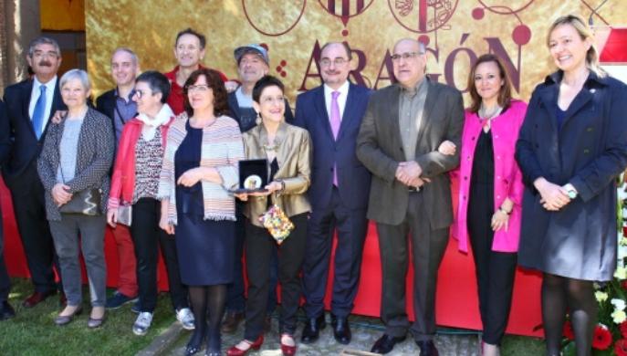 El Presidente de Aragón encuentra en el patrimonio natural e histórico los mejores ingredientes del patriotismo aragonés