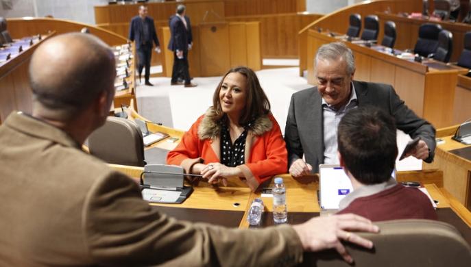 Sesión de control al Ejecutivo en las Cortes de Aragón