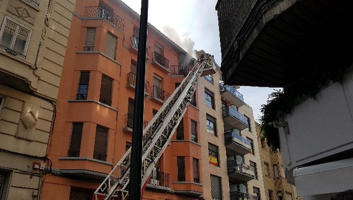 Se incendia un piso habitado por ocupas en Gascón de Gotor