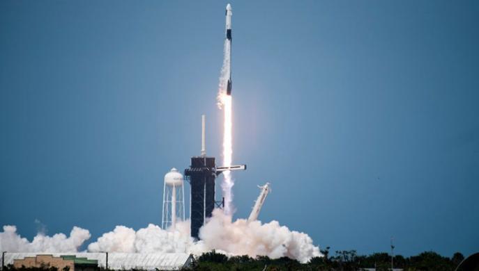 Lanzamiento de SpaceX Demo 2