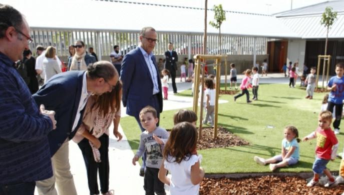 El Presidente de Aragón inaugura el centro público integrado de Arcosur