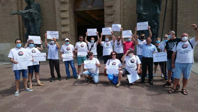 Intervención de la SCUT en el Pleno del Ayuntamiento de Zaragoza