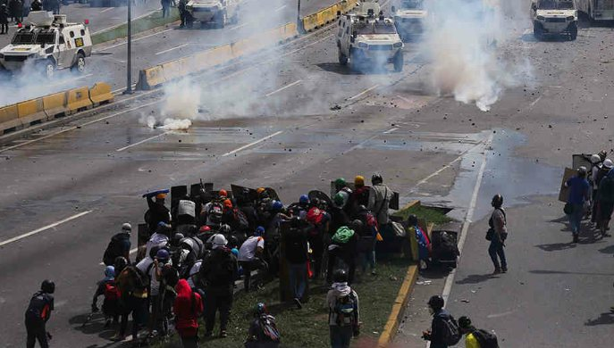 Venezuela al borde de la guerra civil