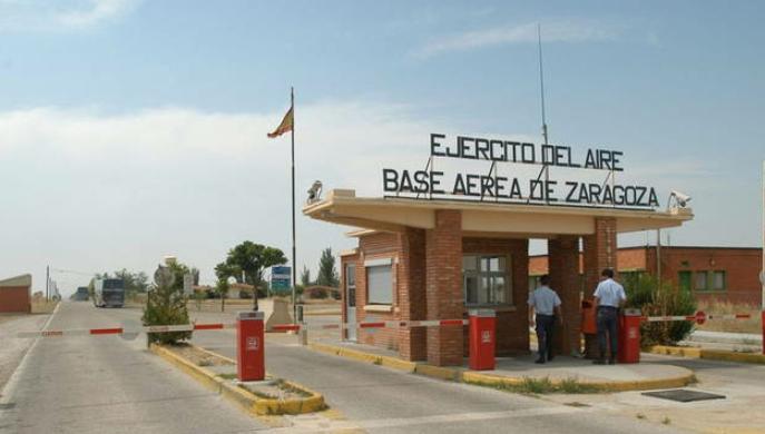 El Gobierno de España cede la base aérea de Zaragoza a los Estados Unidos
