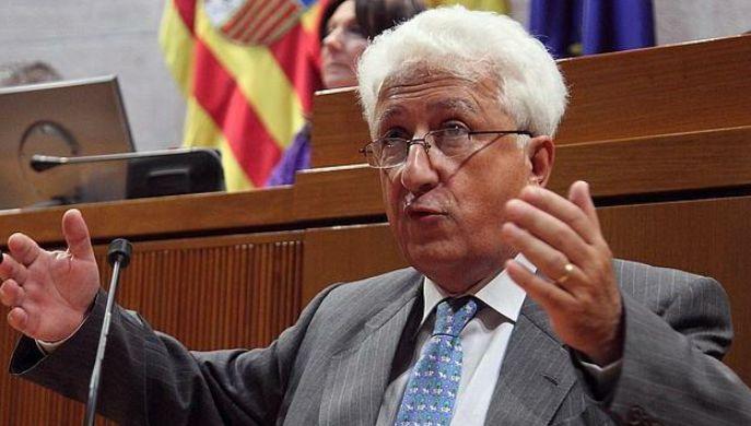 El Justicia de Aragón Fernando García Vicente