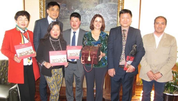 Empresarios chinos se interesan por Teruel