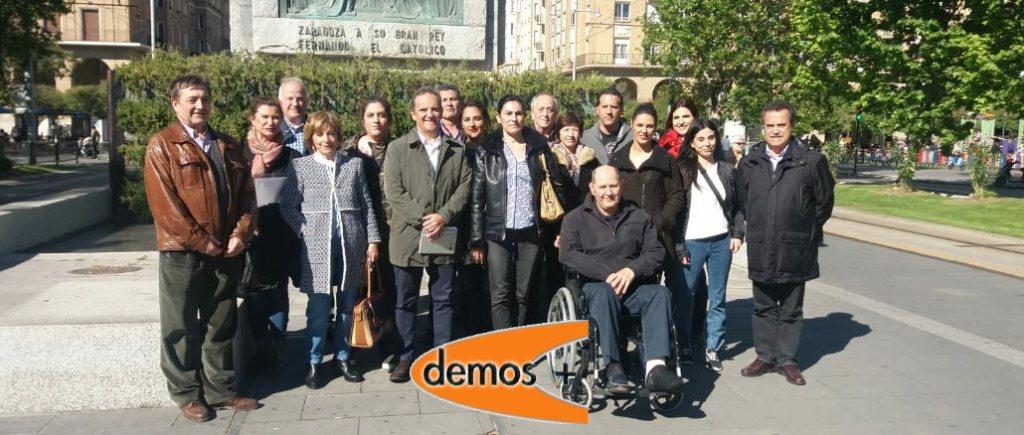 Candidatura Demos+ en acto de presentacion