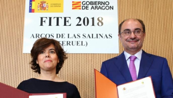 Firma del Fondo de Inversiones de Teruel en (FITE) para 2018