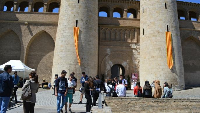 Las Cortes de Aragón abren sus puertas a la ciudadanía con motivo del Día de Aragón