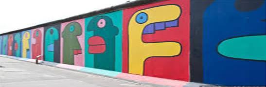 Muro de Berlin pintura